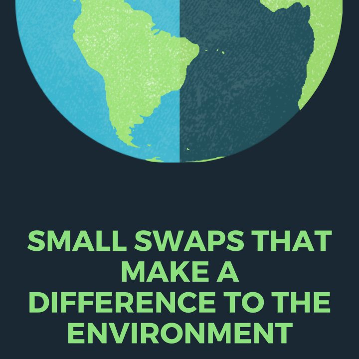 Small swaps that make a difference to theEnvironment
